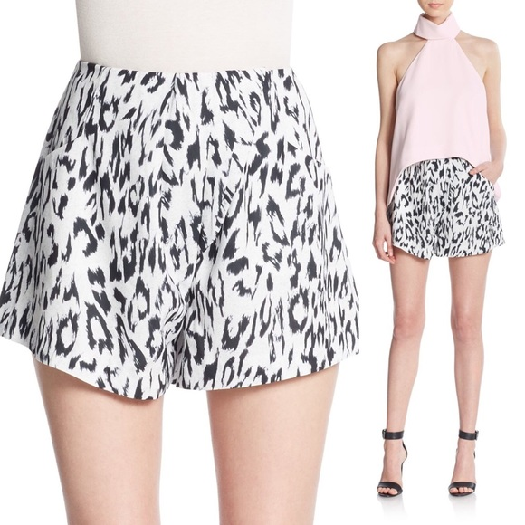 6b3f36270a80 Finders Keepers Shorts | Anthology Leopard Print | Poshmark